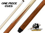 Fiberglass Four Prong One-Piece Cue