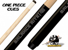 "Balance Rite 42"" One-Piece Shorty Cue"