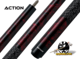 "Action Kids JR09 - Burgundy Marble 52"" cue"