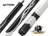 "Action Kids JR17 - Black and White Skulls 52"" cue"