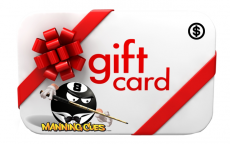 Manning Cues Gift Cards