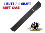 McDermott Shooters Black 1B/1S Soft Case