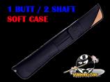 Deluxe 1B/2S Black & Tan Soft Case