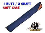 Deluxe 1B/2S Blue & Tan Soft Case