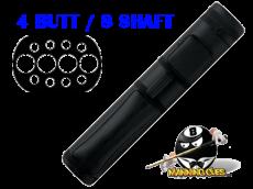 Action 4B/8S Black Hard Case