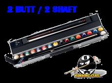 Aramith 2B/2S + 17 Ball Hard Case