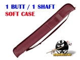 Pro Series 1B/1S Burgundy Soft Case