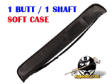 Pro Series 1 butt/1 shaft Black soft case