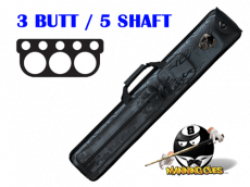 Eight Ball Mafia 3B/5S Metal Skull Hard Case