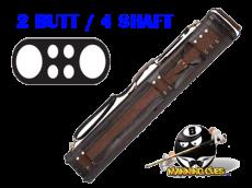 Elite 2B/4S Leather Hard Case