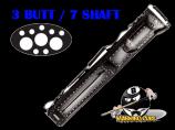 Instroke 3B/7S Black Lasered Leather Hard Case