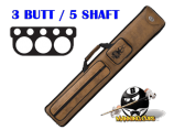 Outlaw 3B/5S Brown Hard Case
