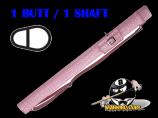 Players Flirt 1B/1S Pink Croc Hard Case