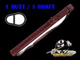 Players Flirt 1B/1S Cherry Stiletto Snake Hard Case