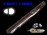 Players Flirt 1B/1S Chocolate Stiletto Snake Hard Case