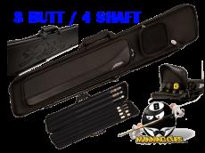 Predator Sport 3B/4S Black Butterfly Soft Case