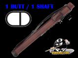 Pro Series 1B/1S Chocolate Brown Hard Case