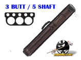 Pro Series 3B/5S Brown Lizard Hard Case