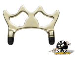 Solid Brass Bridge Head