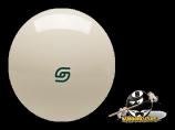 "Aramith 2 1⁄4"" Magnetic Cue Ball with Green Logo Cast Phenolic"