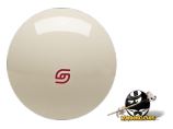 Standard Super Pro Aramith Cue Ball Red Logo