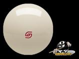 Standard Super Pro Aramith Cue Ball Red Logo