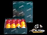 "Aramith Casino Set of 2-1/4"" Balls for English Pool"
