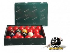 """Aramith Premier 2-1/4"""" Numbered Snooker Ball Set"""