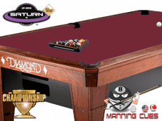 Championship Saturn Teflon Cloth - Burgundy