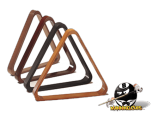 Wooden 8-Ball Triangle