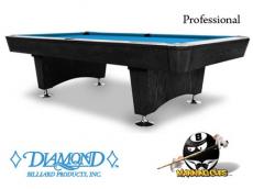 Diamond 9' Professional Pool Table - Like New!