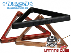 Diamond Triangle 8 Ball Racks