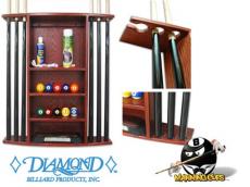Diamond Ball & Cue Rack