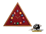 Triangle Billiard Clock