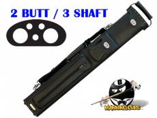Instroke 2B/3S Black Premier Cue Case