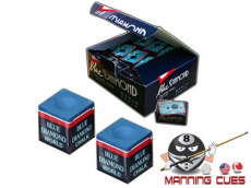 Blue Diamond Pool Chalk Case 25 2pc boxes